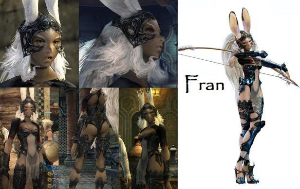 Fran_FFXII_References